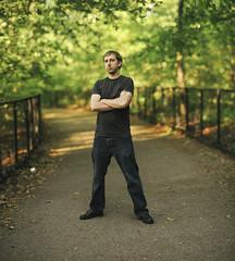 Blake Brandes (Joe Martinez Photography) Tags: nyc portrait newyork brooklyn nikon prospectpark 85mm f10 f18 2012 jmp d700 blakebrandes joemartinezphotography brenizermethod wwwjoemartinezphotographycom
