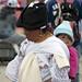 Donna nativa con bambino (Mercado indigeno di Saquisilí)