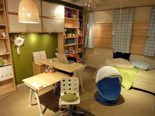 子供と一緒にワークする部屋と題した写真