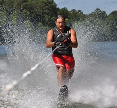 "DLK (""On the Rox"") Tags: waterskiing watersports tubing slalom lakemartin slalomcourse"