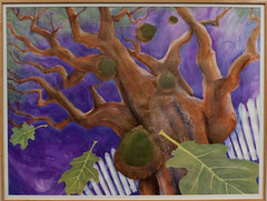 """Oak of Mercy"" by Lori Minick (NCJWLA) Tags: domesticviolence healingart nationalcouncilofjewishwomen awbw ncjwla awindowbetweenworlds"