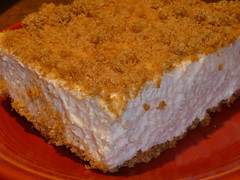 Marshmallow Whip Cheesecake Squares.... (steamboatwillie33) Tags: summer kitchen recipe dessert treats cheesecake marshmallow creamcheese creamy whipped grahamcrackers coolwhip 2013