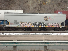 hbak payr oter (derrrff!!!!!!) Tags: train graffiti painted spray graff freight rolling fr8 benched benching
