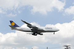 Lufthansa 747-7 (UnfinishedPortraitmaker) Tags: airplane aircraft aviation boeing ord lufthansa boeing747 747 ohareinternationalairport