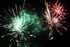 Fireworks (Lindseyvdl) Tags: summer night bright fireworks vibrant explosions thanet broadstairs