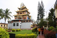 Golden Temple, Coorg, Karnataka (ravikrishnanak) Tags: karnataka coorg goldentemple goldentemplecoorgkarnataka buddhisttemplecoorgkarnataka buddhisttemplekushalnagarcoorgkarnatakaindia