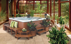 conservatory (Cal Spas Photo Gallery) Tags: wood houses homes windows plants house building home glass garden construction realestate floor chairs market room lifestyle property conservatory tiles tables housing relaxation houseprices properties estateagent improvements conservatories