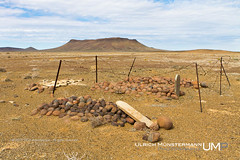 Graveyard Volmoersfontein, Tankwa Karoo National Park, Northern Cape, South Africa (Ulrich Mnstermann) Tags: africa city travel holiday grave graveyard southafrica vakantie location afrika ferien reise reizen northerncape buildingslandmarks tankwakaroonationalpark 1305southafrica