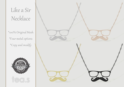 Like a Sir Necklace AD