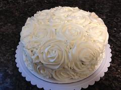 Rose Cake by Amanda, RDU NC, www.birthdaycakes4free.com
