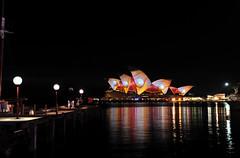 Vivid Sydney 2013-Opera House and Harbour Brigde (jessjamesjo) Tags: harbour sydney vivid australia nsw brigde