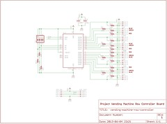 """Row Controller Schematic • <a style=""""font-size:0.8em;"""" href=""""http://www.flickr.com/photos/61091961@N06/8955257098/"""" target=""""_blank"""">View on Flickr</a>"""