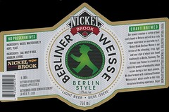 Nickel Brook Berliner Weisse - Better Bitters Brewing Company (JoeSeliske) Tags: 6 ontario burlington brewing company nickel brook sour ml ibu better berliner 38 bitters 750 weisse