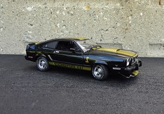 1977 Ford Mustang II Cobra II Coupe (JCarnutz) Tags: ford greenlight 1977 diecast 118scale mustangii cobraii