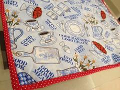 """Jogo Americano """"Cozinha""""! (midoridebora) Tags: patchwork jogo americano tecido"""