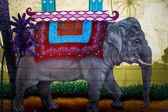 City Jungle (Thomas Hawk) Tags: sanfrancisco usa elephant graffiti unitedstates unitedstatesofamerica mission missiondistrict califorina flickrmeetup clarionalley sfflickr sfflickrmeetup