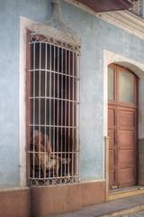 Watching the World Go By, Trinidad, Cuba (Mike Morris UK) Tags: street old man window cuba scene shade trinidad caribbean