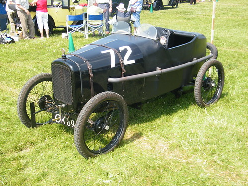 A4 - 1923 Austin Seven Works Team Car (Boulogne Racer) [replica]