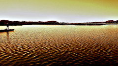 Gazing at the Sea of Gold (TheJudge310) Tags: arizona usa lake water dock laguna yuma mittry