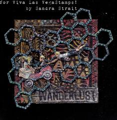 Wanderlust (molossus, who says Life Imitates Doodles) Tags: mixed media pastels oil craypas chipboard gellyroll umwow vivalasvegastamps sakuraofamerica vlvs