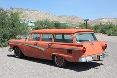 1957 Ford Country Sedan (twm1340) Tags: arizona ford station sedan wagon gm country az 1957 fp7 verdevalley clarkdale emd vcrr