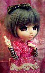 Megan [Pullip Cosmic Jupi] (Dekki) Tags: fashion asian doll eyelashes megan cm planning groove pullip 27 cosmic jun jupi obitsu junplanning rewigged rechipped