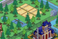 Tapped Out: Wolfcastle Mansion: Backyard (moethebartender) Tags: out waterfront rich simpsons rainier springfield mansion tapped wealth wolfcastle