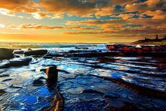 Platform Rock into Ocean (**James Lee**) Tags: ocean seascape rock sunrise dawn platform australia shellharbour photographyforrecreation