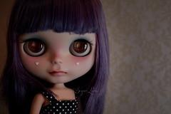SugarLuna Custom Blythe #25 (SugarLuna/Ganbatte) Tags: hair doll 25 blythe custom dyed rbl sugarluna