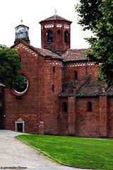 IMG_0912 (Giovanbattista Brancato) Tags: history church chiesa antico lombardia bleachbypass morimondo abbaziadimorimondo
