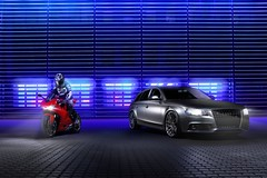 Ducati Panigale & Audi A4 Avant (Car-Nation Photography) Tags: ducati a4 audi avant panigale