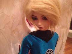 Avalon, in costume (branchuchan) Tags: angel switch alien bjd avalon shino asianballjointeddoll bluelantern uploaded:by=flickrmobile flickriosapp:filter=nofilter