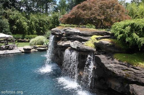 Paisagismo e jardinagem fontes de água