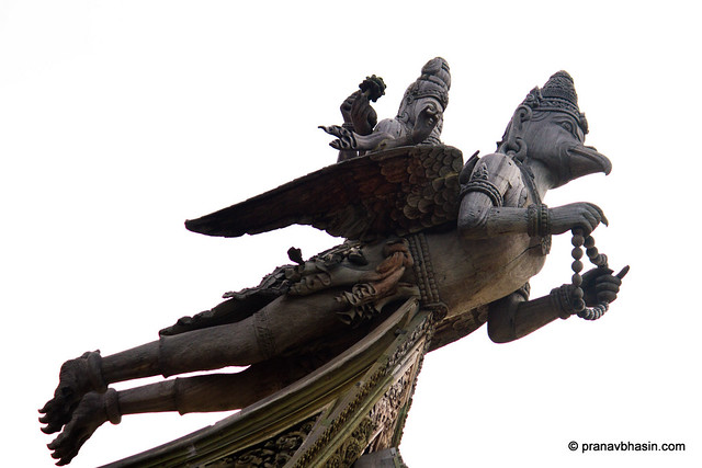 The Mighty Garuda, At The Sanctuary Of Truth, Pattaya