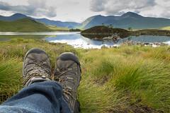 Traveling Boots - Scotland (virtualwayfarer) Tags: uk nature boot scotland highlands europe boots unitedkingdom hiking scottish adventure gateway glencoe backpacker travelogue traveler budgettravel scottishhighlands bootshot spiritofadventure alexberger spiritoftravel virtualwayfarer travelingboots