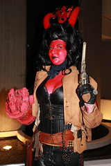 IMG_7461 (bazooked1) Tags: atlanta boy woman girl female costume women dragon cosplay hell hellboy con dragoncon hellgirl 2013