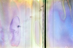 (audrey stanton) Tags: sky abstract color film 35mm wire alt destroyed agfs