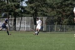 Hughes2 (westminster.college) Tags: men sports field goal athletics kick soccer score titans menssoccer 2013 coryhughes