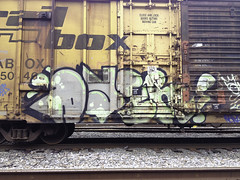 Dyer (Revise_D) Tags: railroad red graffiti revise graff tagging freight revised trainart fr8 benching fr8heaven fr8aholics revisedesigns revisedeigns revisedesign fr8bench