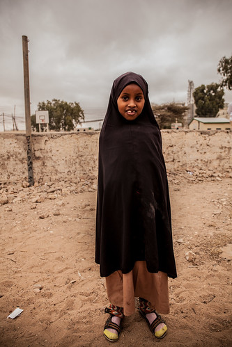 School girl portrayed in Hargeisa