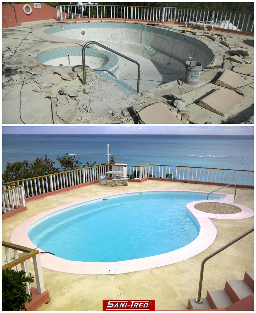 The world 39 s best photos of pool and rubber flickr hive mind - Swimming pool paint for concrete pools ...