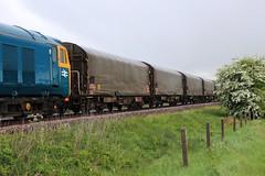 Sedgebrook (GBRf 66702) Tags: wagon steel covered loaded sedgebrook