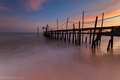 DSC_4232 (rhu dua) Tags: nature sunrise nikon jetty sigma lee 1020 hoya nd8 d7100 gnd09s