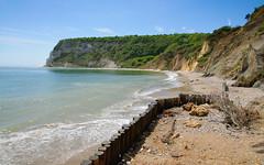 Whitecliff Bay (sunnyisle) Tags: beach cliffs isleofwight iow bembridge whitecliffbay