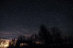 Night Sky In Upper Michigan (daniela beckmann) Tags: