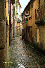 Baroque streets of Porto Portugal (Terry Kearney) Tags: road urban streets heritage history portugal nature water rain weather museum architecture port canon buildings river landscape daylight boat alley europe flickr ship waterfront outdoor gothic may culture cathedrals unesco explore sidewalk porto douro baroque romanesque kearney braga guimarães portugese 2015 portwine portoportugal guimarãesportugal riberia bragaportugal riverdouro oneterry riverdouroporto terrykearney may2015 sédoportoportugal baroquestreetsofportoportugal luísibridgeportoportugal