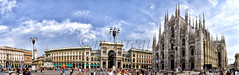 Plaza de El Duomo (mArregui) Tags: nikon miln plaza duomo elduomo catedral italia wwwarreguimeluscom marregui ciudad