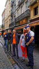 2016-06-18_17-12-27_ILCE-6300_9029_DxO (miguel.discart) Tags: 2016 27mm belgique belgium belira belirl bru brussels bruxelles bxl candidportrait candide candideportrait createdbydxo drapeau dxo e18200mmf3563oss editedphoto euro euro2016 flag focallength27mm focallengthin35mmformat27mm football ilce6300 irlande iso100 pedestrian pietonnier sony sonyilce6300 sonyilce6300e18200mmf3563oss sport