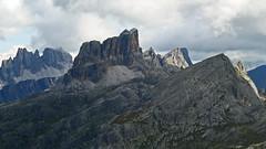 Croda da Lago - Monte Averau - Nuvolao (Monte Axel) Tags: monte averau nuvolao croda da lago dolomiten dolomiti venetien sdtirol alpen berge rocks mountains wandern hiking gipfel