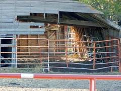 Behind Bars (Sandy*S) Tags: ansh74 scavenger7 bars old barn